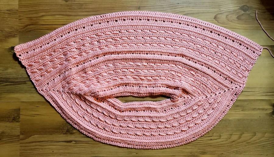 Breezy Batwing Tee - Free Crochet Top Pattern