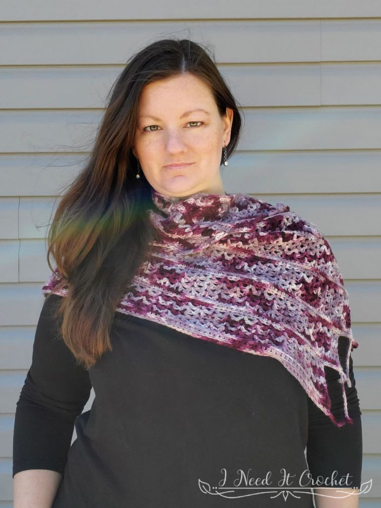 Butter Upon Bacon - Free Crochet Shawl Pattern