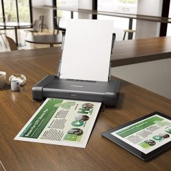CANON PIXMA Wireless Mobile Printer With Airprint This Portable Printer is perfect for your needs. WithAirPrint - Print wirelessly and effortlessly from your compatible iPhone, iPad, or iPod touchandno drivers needed.With the optional battery, take your portable printer anywhere and print.