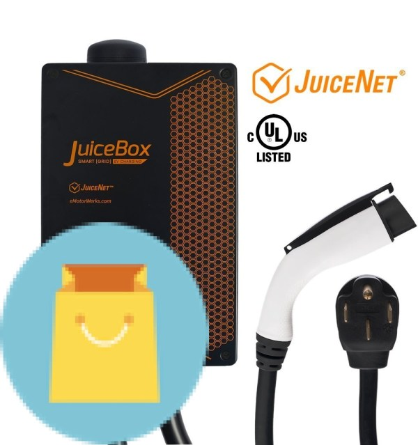 WiFi-equipped Plug-in Electric Vehicle Charger
