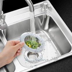 2PCS Stainless-Steel Kitchen Sink Strainer