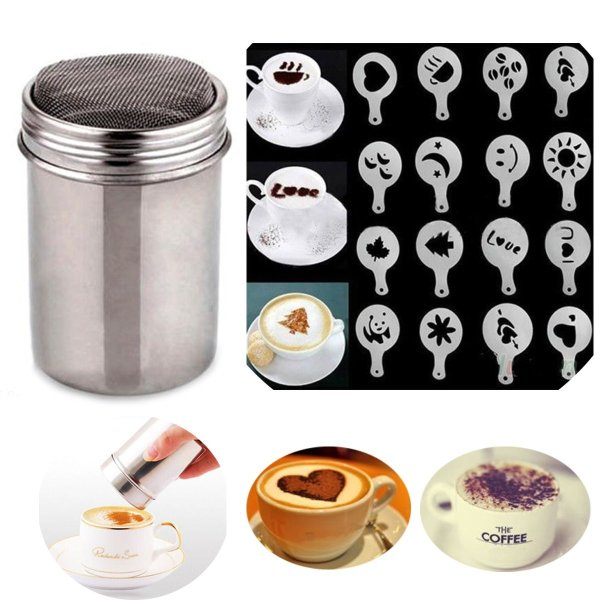 Coffee Shaker Duster 16 Pieces