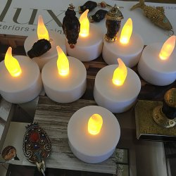 Flameless LED Tea Light Candles