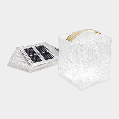 Solight Solarpuff Portable Compact LED Solar Lantern