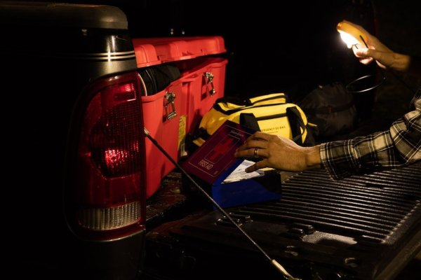 Sun King Pico Portable Solar Lantern <p> Built-in solar panel and detachable stand makes stashing it just about anywhere simple and easy.