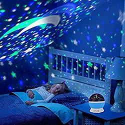 Alenbrathy Star Projector Romantic LED Night light
