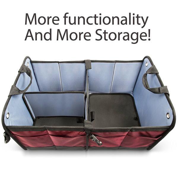 Car Trunk Organizer By Starling's Eco-Friendly Premium Cargo Storage