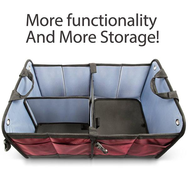 Car Trunk Organizer By Starling's Eco-Friendly Premium Cargo Storage