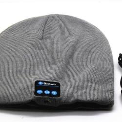 Hat Cap with Stereo Headphone Headset Speaker Wireless Happy-top Bluetooth Music Soft Warm Beanie Hat Cap with Stereo Headphone Headset Speaker Wireless Mic Hands-free for Men Women Gift