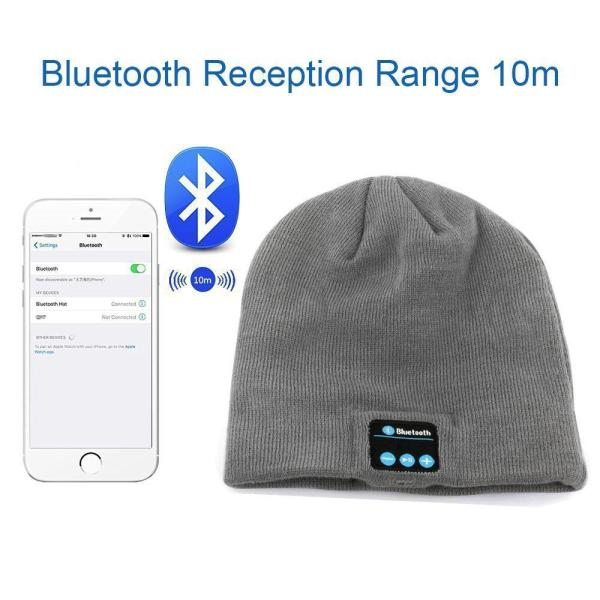 Hat Cap with Stereo Headphone Headset Speaker Wireless