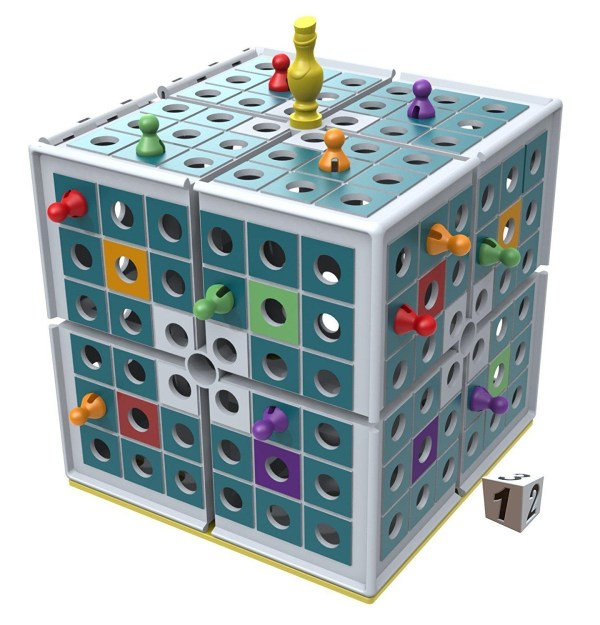 Squashed 3D Strategy Board Game Squashed 3D Strategy Board Game