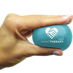 Stress Ball Hand Therapy Gel Squeeze Ball for Hand Stress Stress Ball Hand Therapy Gel Squeeze Ball for Hand Stress and Therapeutic Relief, Grip Strength, Hand Mobility and Restoration Teal 6.0cm.