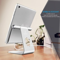 Tablet Stand Adjustable, Lamicall iPad Stand