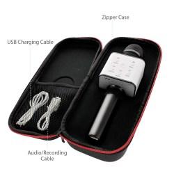 Wireless Karaoke Microphone Handheld System Machine For Kids