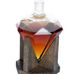 Diamond Liquor Decanter – Scotch Whiskey Decanter