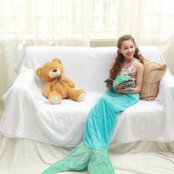 Echolife Mermaid Tail Blanket Super Soft Fleece