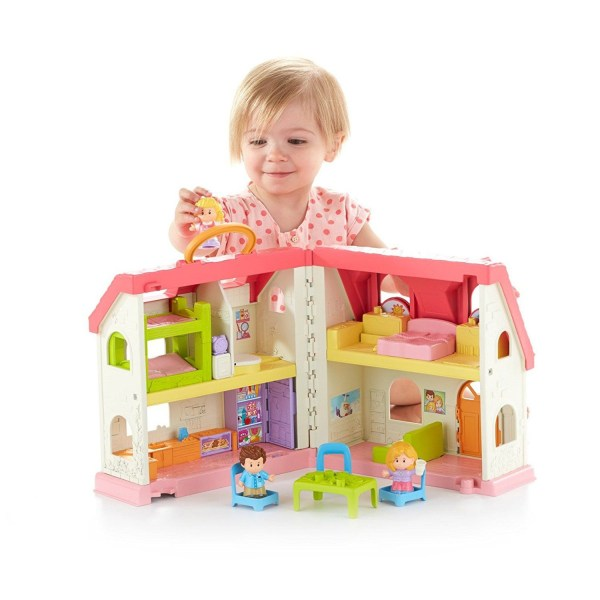 Fisher-Price Little People Surprise & Sounds Home Playset Fisher-Price Little People Surprise & Sounds Home Playset