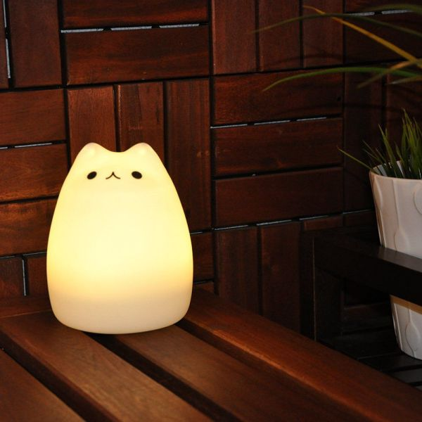 GoLine Cat LED Baby Kids Night Light