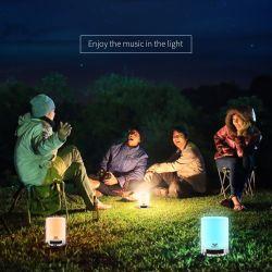 Light Night Bedside Lamp, SAVFY Bluetooth Speaker