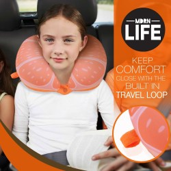 MDRN Life Neck Pillow for Travel - Cervical Support