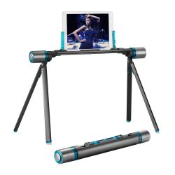 Tablet Stand Holder Bed, Portable iPad Stands and Holders Tablet Stand Holder Bed, Portable iPad Stands and Holders, Foldable Phone Holders Mount for E-readers, iPhone, Cell Phone, Galaxy Tab, LG, Sofa, Floor & Outdoor-Gray Blue.