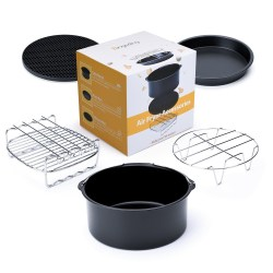 Air Fryer Accessories 2017 Upgrade for Gowise Phillips and Cozyna or More Brand