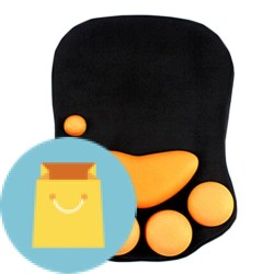 Cute Cat Paw Soft Silicone Wrist Rests