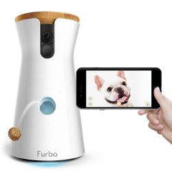 Furbo Dog Camera: Treat Tossing Furbo Dog Camera: Treat Tossing, Full HD Wifi Pet Camera and 2-Way Audio, Designed for Dogs, Works with Amazon Alexa
