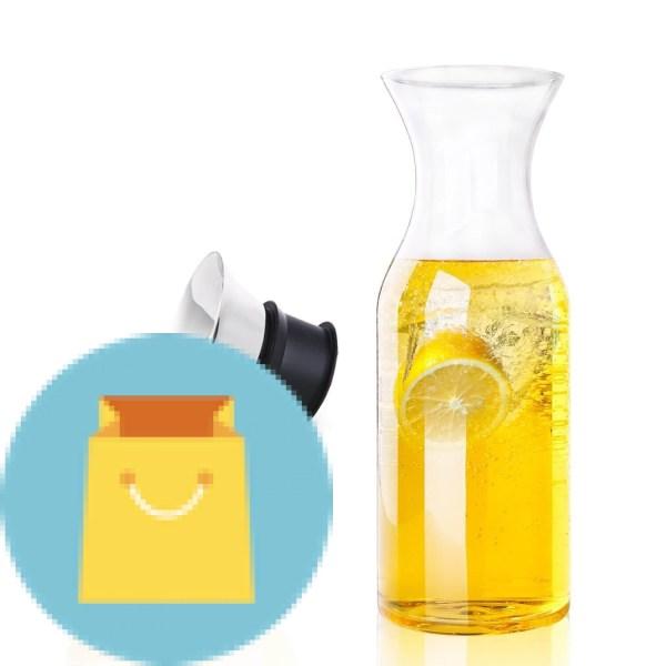 Glass Water Pitcher Glass Fridge Carafe Ice Tea Maker
