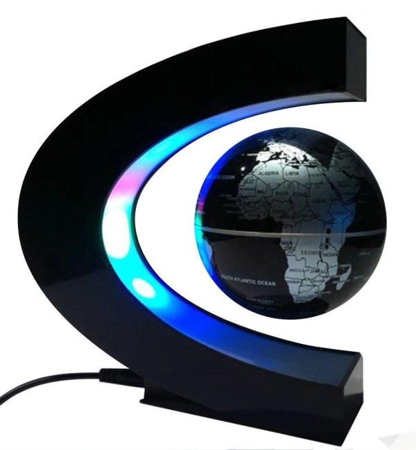 Levitation Floating Globe Rotating Magnetic World Map