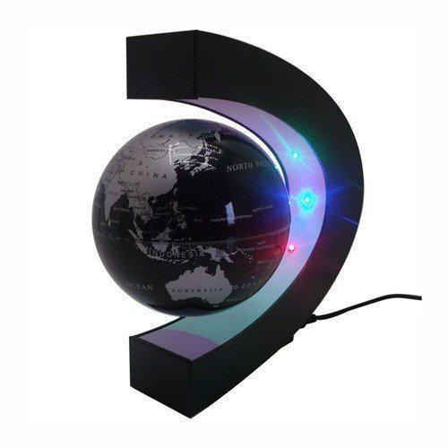 Levitation Floating Globe Rotating Magnetic World Map MOKOQI Levitation Floating Globe Rotating Magnetic Mysteriously Suspended in Air World Map.