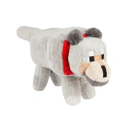 Minecraft 15 Wolf Plush with Hang Tag Stuffed Animal
