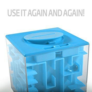 Money Maze Puzzle Box For Kids and Adults