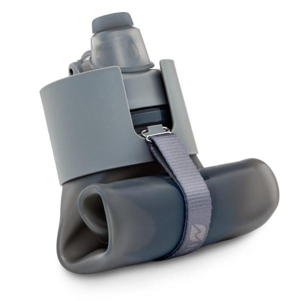 Nomader Collapsible Water Bottle Nomader Collapsible Water Bottle - Leak Proof Twist Cap - BPA Free, 22 oz.