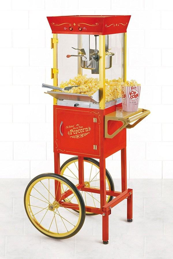 Nostalgia Vintage 6-Ounce Commercial Popcorn Cart