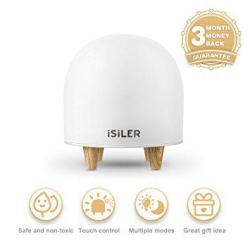 iSiLER Portable Silicone Cute Nursery Night Lamp LED Night Light for Kids, iSiLER Portable Silicone Cute Nursery Night Lamp, Romantic Dim Mood Lamp, Touch Control Bedside Lamp, Baby Night light BPA-Free, 48 Hours Runtime.