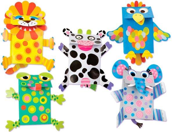 ALEX Toys Little Hands Paper Bag Puppets ALEX Toys Little Hands Paper Bag Puppets.