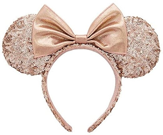 Minnie Mouse Ears Rose Gold