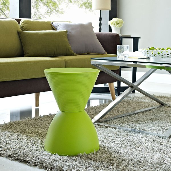 Modway Haste Contemporary Modern Hourglass Accent Stool
