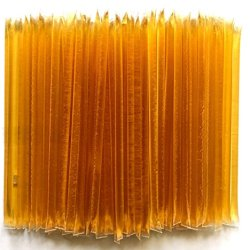 Native Honey Sticks Native Honey Sticks | 100% Real, Uncut, Pure, Unfiltered, Natural, American Honey Straws | 100 Pack of Local, U.S. Grade A Original Clover Honey Stix | Great for Tea, Kids Snacks, Travels and Gifts.