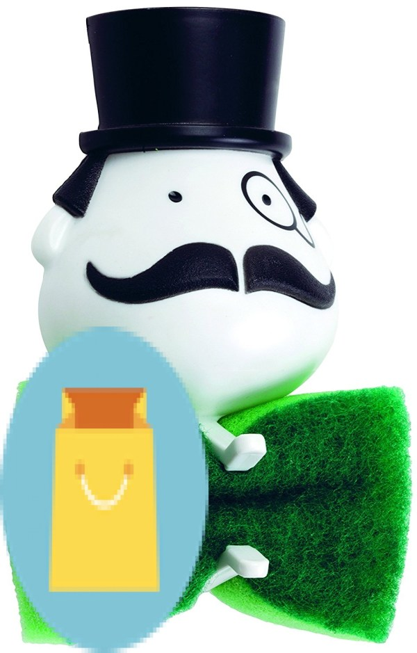 Peleg Design Mr. Sponge Sponge Holder