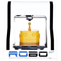 """Robo R1+ ABS/PLA Assembled 3D Printer Robo R1+ ABS/PLA Assembled 3D Printer, Big Build Volume 8""""x9""""x10"""", Easy to Use, Open Source, Same Features."""