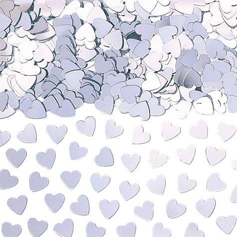 Amscan Silver Heart Confetti