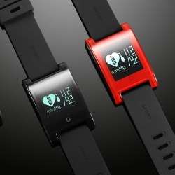 Blood Pressure and Heart Rate Monitor Smartwatch