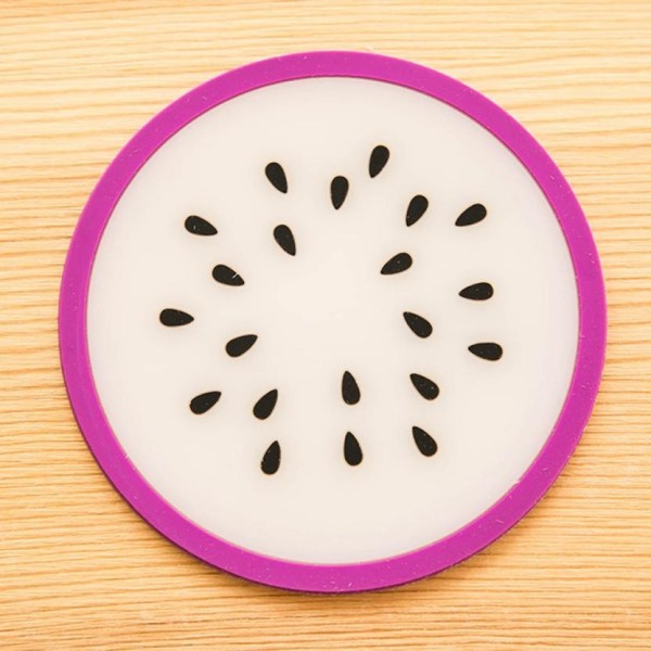 Fruit Silicone Dining Table Placemats