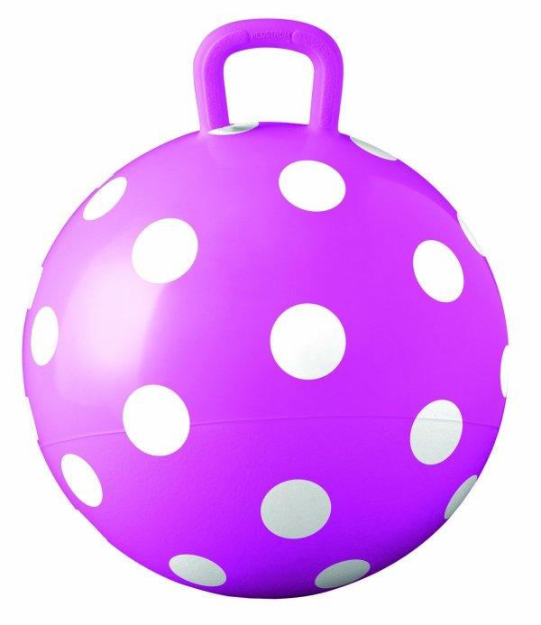 Hedstrom Pink Polka Dot Hopper Ball