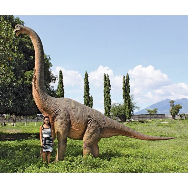 Jurassic Sized Brachiosaurus Dinosaur Statue