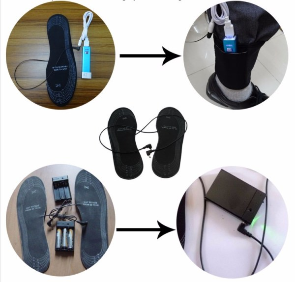 USB Heated Insoles For Shoes - Keep Feet Warm