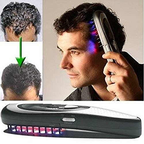 Hair Growth Comb HUBEE Electric Loss Regrowth Hair Brush (A)