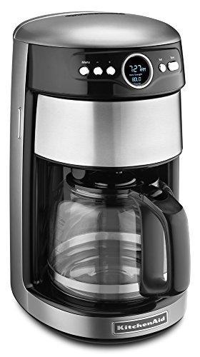 KitchenAid 14-Cup Glass Carafe Coffee Maker - Contour Silver